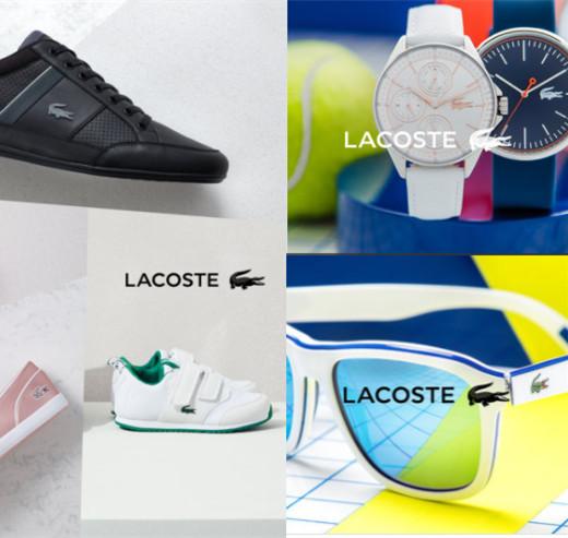 永不落幕的经典  法式高端休闲品牌LACOSTE男女童鞋、墨镜、手表
