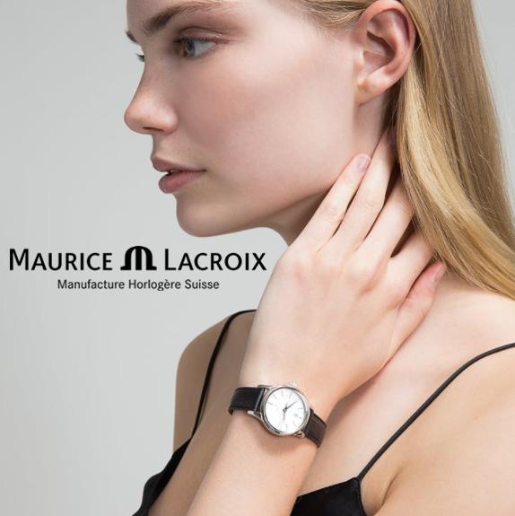 4折闪购! MAURICE LACROIX 艾美典雅系列女士腕表