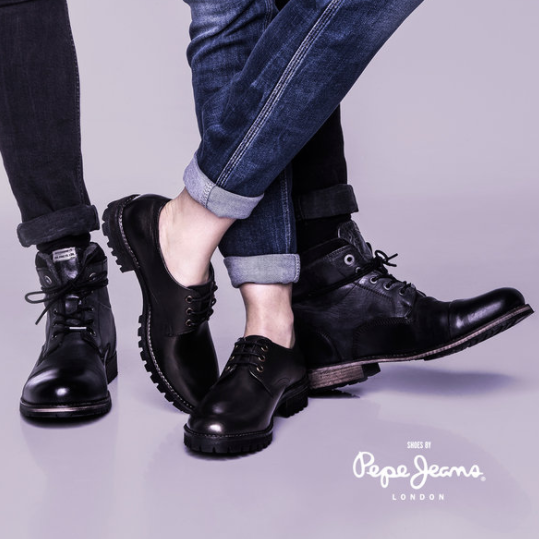 英伦时尚 Pepe Jeans 鞋履闪购