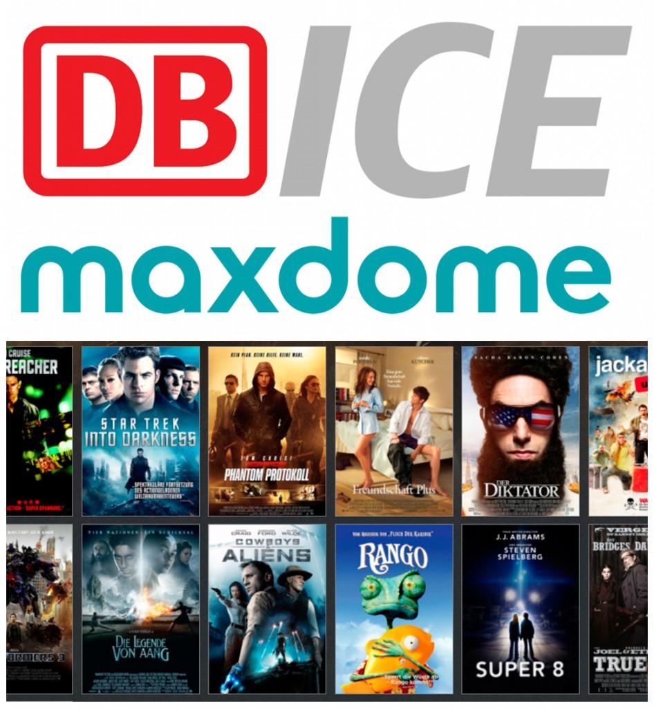 视频点播网站 maxdome 和 DB 合作特惠套餐