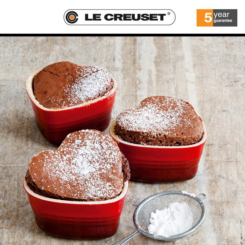 法国国宝级锅具品牌Le Creuset 心形烤罐