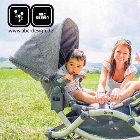 又一个明星同款 德国市占第一ABC Design婴儿车