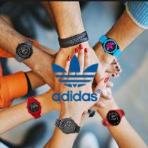 款款颜值爆表 Adidas三叶草手表