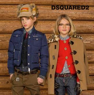 意大利DSQUARED2高端童装17年秋冬新款 3个月到16岁都有