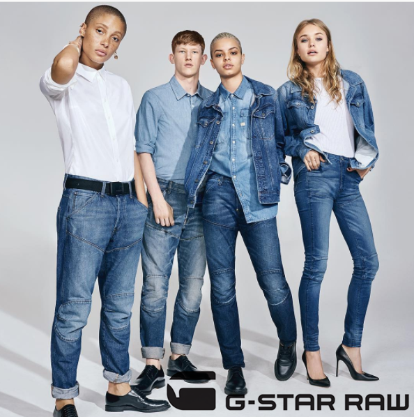 牛仔裤专家 显瘦、腿长要这么穿 G-star Raw秋装特卖会