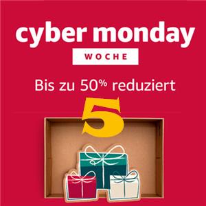 Amazon Cyber Monday 2017 黑色星期五促销周