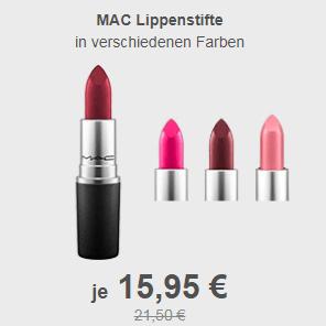 MAC 子弹头唇膏多色可选