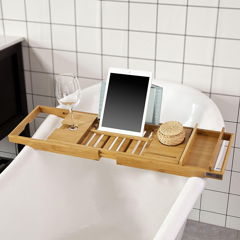 SoBuy FRG207-N Badewannenablage 浴缸架