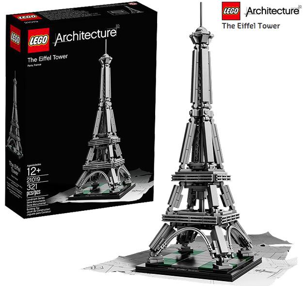 Lego乐高 21019 经典建筑系列 法国埃菲尔铁塔