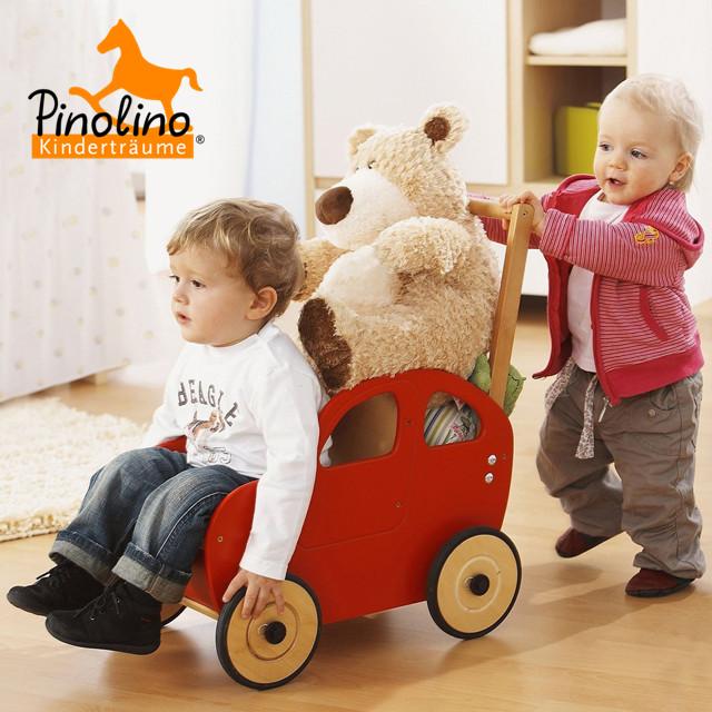 萌化了!德国本土PINOLINO宝宝平衡车、过家家婴儿车