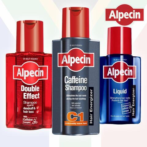 补货了!拯救你的发际线 德国ALPECIN专业防脱发洗发水
