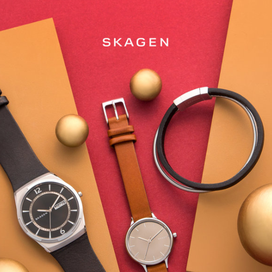 北欧风情 Skagen斯卡恩 钟表首饰及皮包