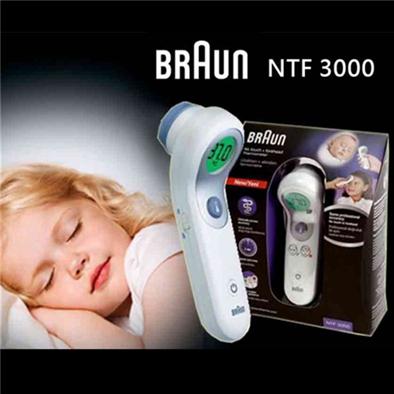 Braun NTF3000博朗红外线额温计