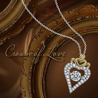 """Krone der Liebe""""爱之冠""""女式项链"""