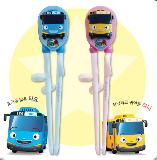 韩国 Edison 聪明巴士儿童学习筷