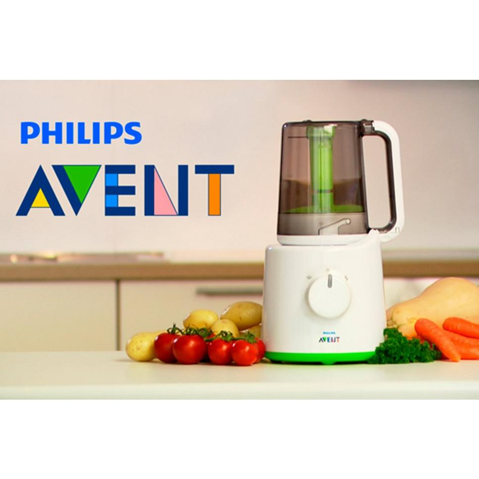 Philips Avent SCF870/20 飞利浦安怡蒸菜搅拌二合一辅食机