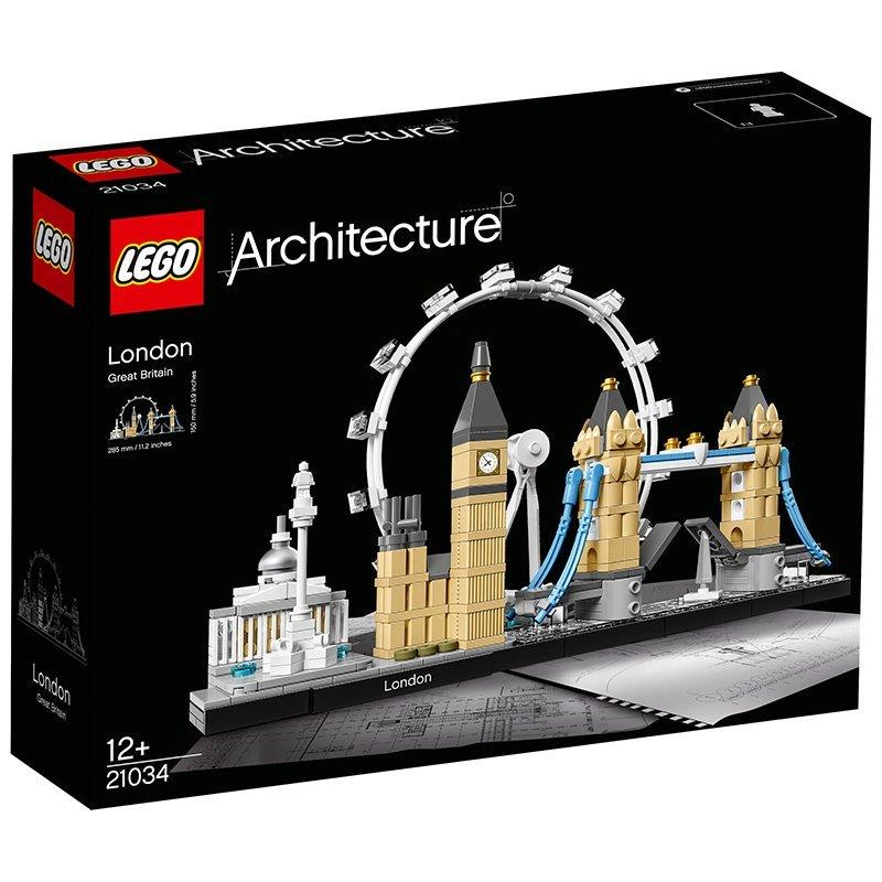 LEGO Architecture 21034 乐高建筑系列 伦敦街景