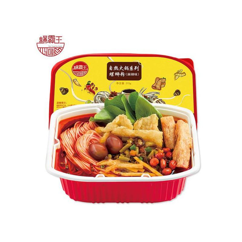 懒人必备吃货必备 螺霸王自热免煮小火锅螺蛳粉(麻辣味无蛋版) 315g