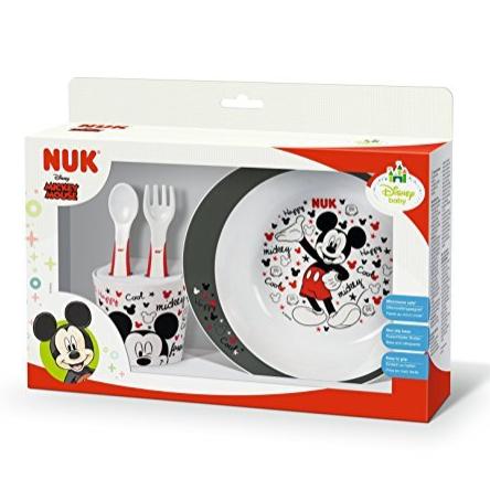 NUK迪士尼合作款 米奇儿童餐具套装