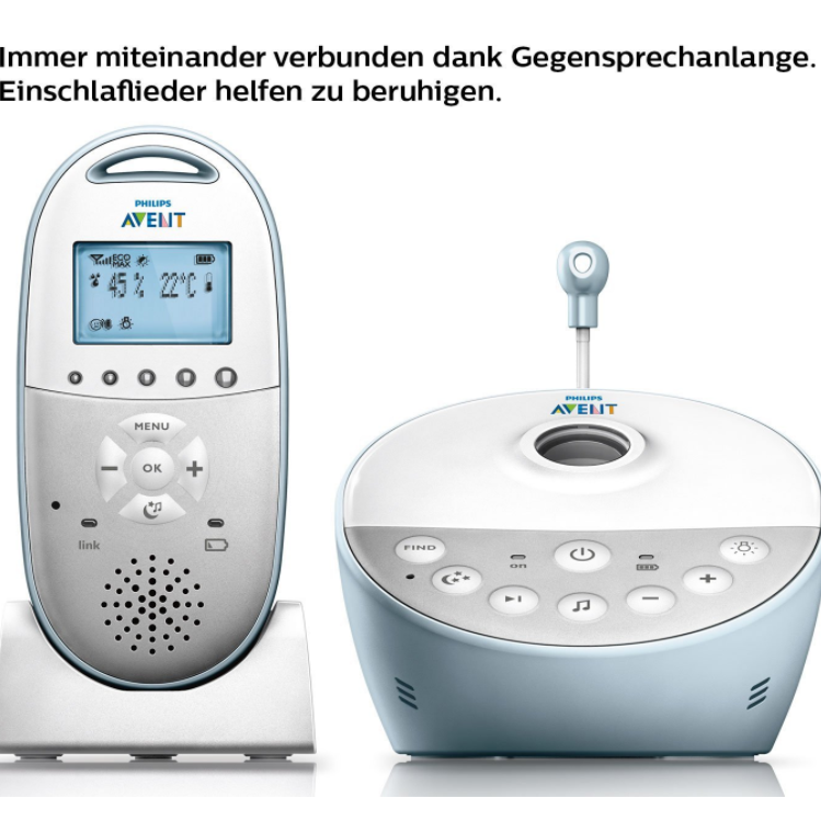 Philips AVENT SCD580/00 婴儿监听电话