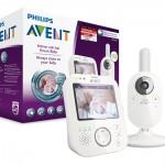 有了它超安心 Philips AVENT SCD630/26 宝宝监控器