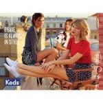 小清新怎么能错过 美国始祖级布鞋品牌 Keds 帆布鞋