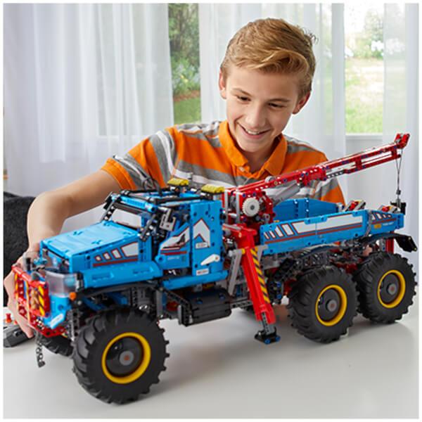 史低价!LEGO乐高科技系列 全地形6×6遥控越野皮卡 42070
