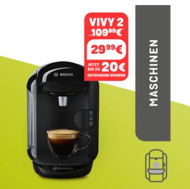 Bosch Tassimo Vivy 2 胶囊式咖啡机(五色可选)