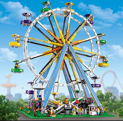 童心未泯的儿童乐园 LEGO Creator 10247摩天轮