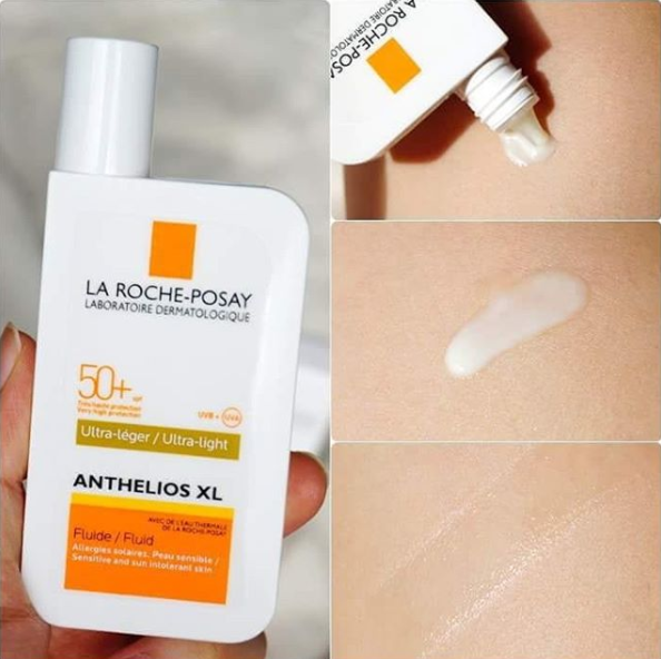 防晒中的大哥大 LA ROCHE-POSAY 理肤泉 Anthelios XL LSF 50+ Fluid 防晒乳