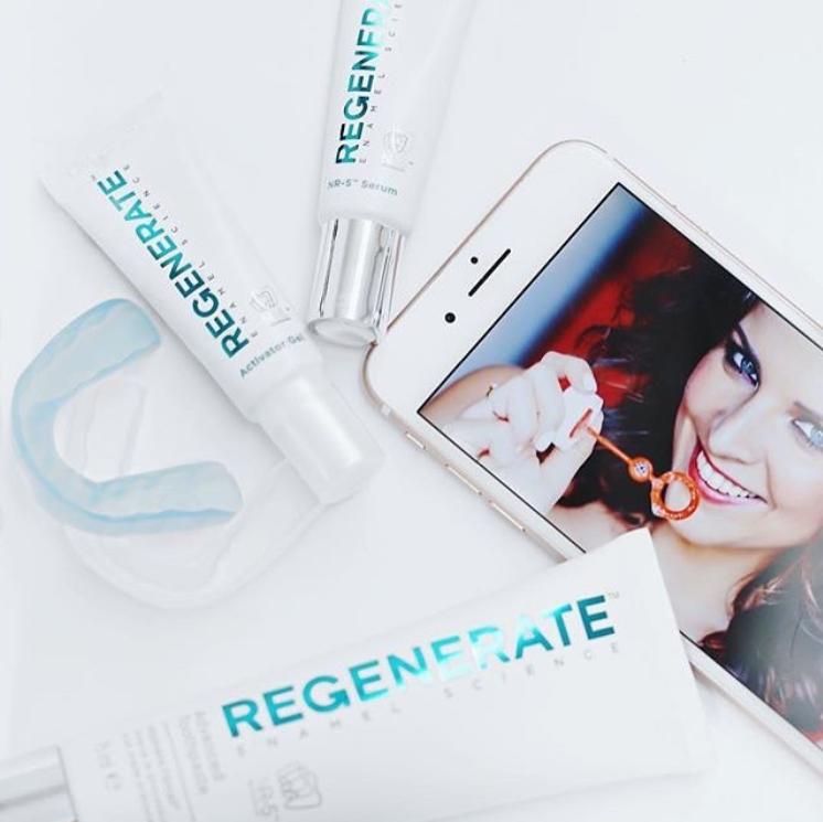 全球唯一款牙釉质修复能力的产品!REGENERATE 修复美白精华牙膜