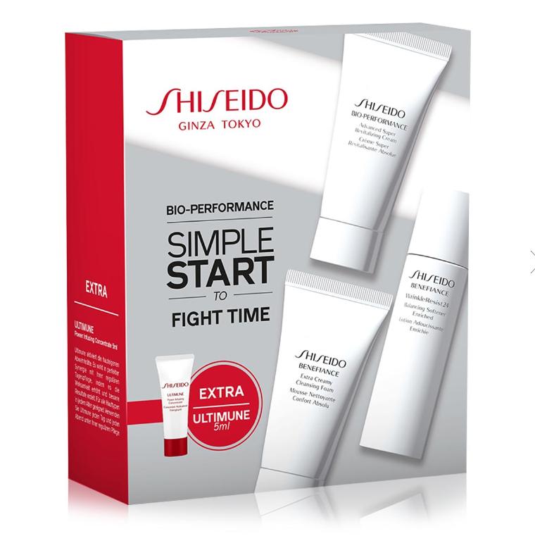 今天全场护肤品8折优惠!Shiseido资生堂百优新手套装