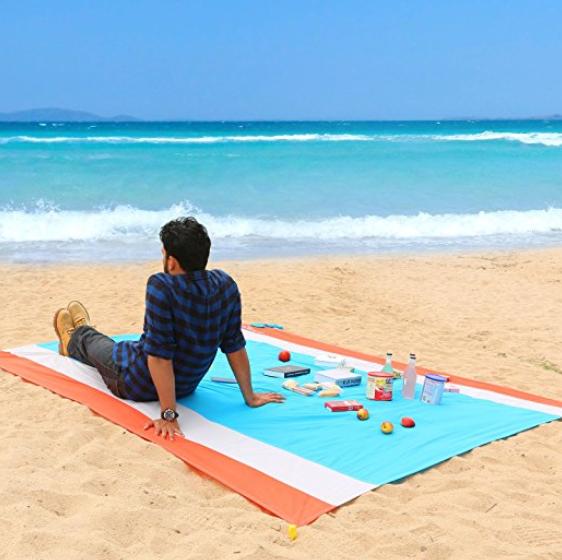 WolfWise 大号野餐毯野营毯沙滩毯