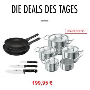 厨房全能王 德国双立人ZWILLING TWIN® Classic系列锅具+刀具 10件套