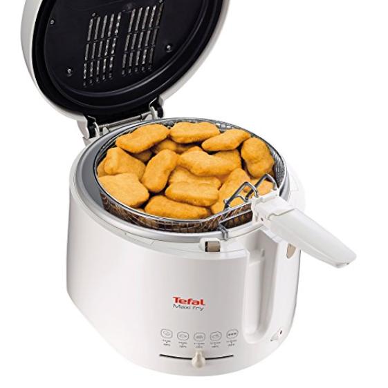 在家轻松做煎炸美味啦Tefal FF1001 Maxi Fry 炸锅