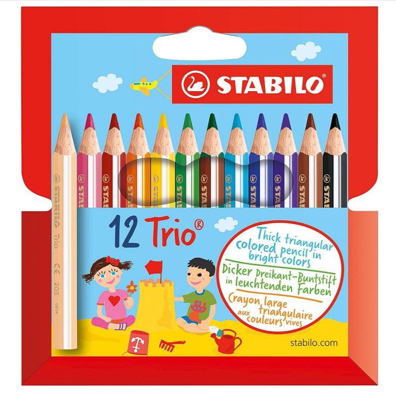 Stabilo思笔乐 12色彩色铅笔