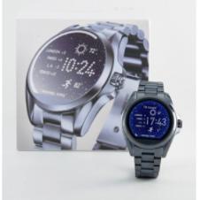 Michael Kors 夜空蓝/静谧紫不锈钢智能腕表