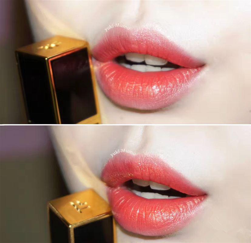 人气王!那支美艳动人的人鱼色 Tom Ford Lips & Boys  黑管迷你唇膏 64号Hiro