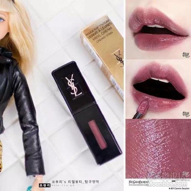 YSL黑管407/YSL 圆管 46/ Dior 999 三种质地/Dior 772 六个畅销口红