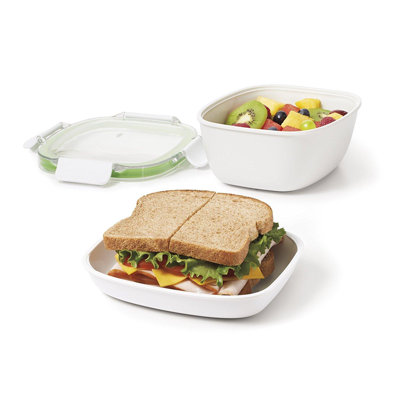 上班族学生党的能量补充 OXO Good Grips Lunchbox-to-go午餐便当盒