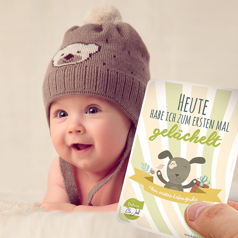 宝宝的40个第一次 成长记录卡片 That's me Babycards