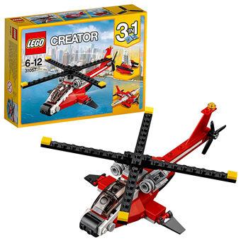LEGO 乐高 创意系列 Creator 直升机突击 三合一