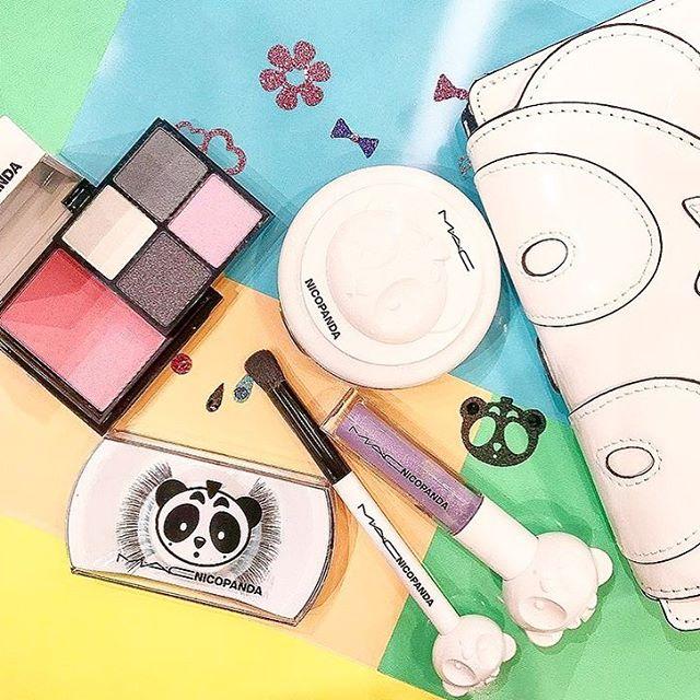 能萌人一脸血的 「M.A.C x Nicopanda 」熊猫限量合作系列彩妆上市,满屏的熊猫想要通通带回家!