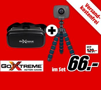 户外运动爱好者必备 GOXTREME Full Dome 360 Action Cam便携运动相机