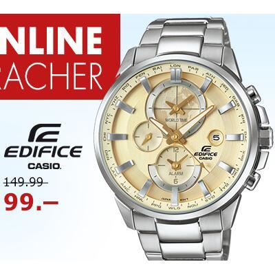 Casio卡西欧edifice系列男式腕表ETD-310D-9AVUEF