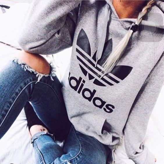 adidas Originals Trefoil Kapuzentop 男士经典卫衣