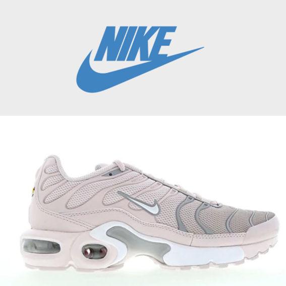 复古跑鞋新面貌 Nike Tuned 1 灰粉色