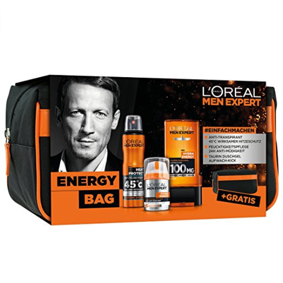 L'Oreal Men Expert Energy Bag 男士护肤品套装