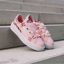 Puma Platform Kiss Careaux 印花球鞋