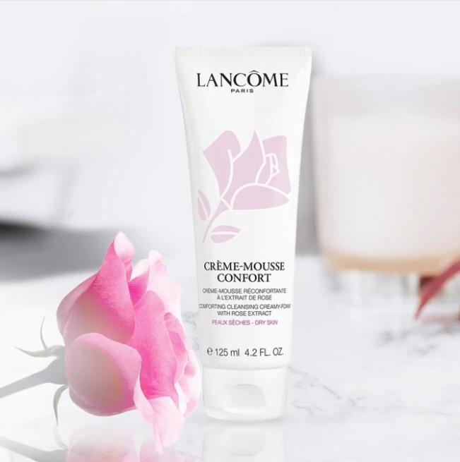 干肌独宠 Lancome Crème-Mousse Confort 兰蔻清滢柔肤洁面乳